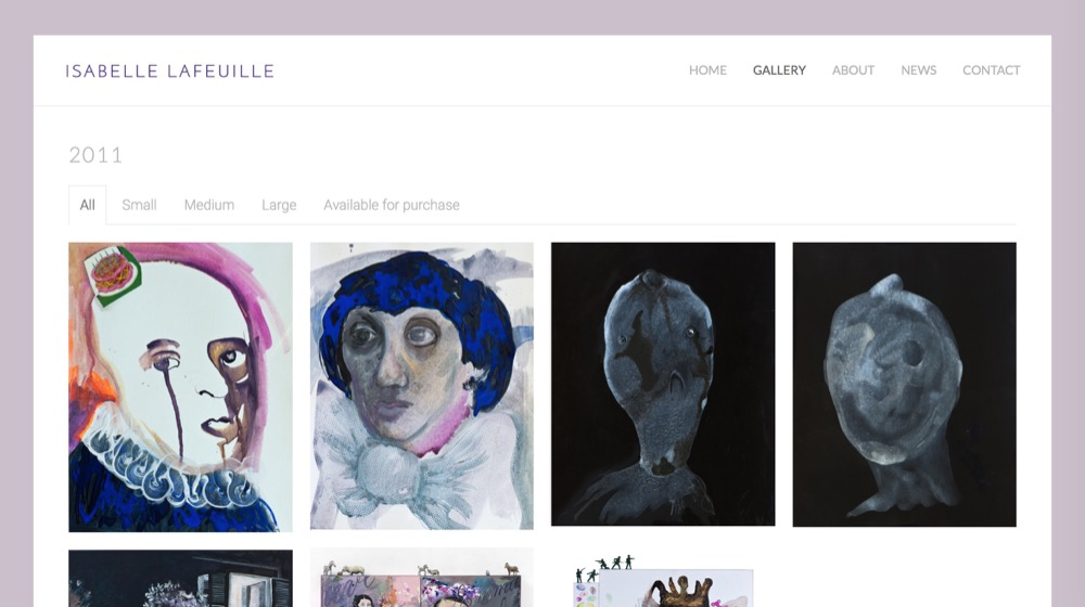 Isabelle Lafeuille - Artiste